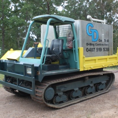 GD15 – Tracked Water Cart